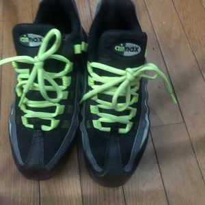 Youth 6Y air max sneakers.
